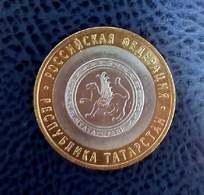Russia 10 Rubles, 2005 Republic Of Tatarstan - Russland
