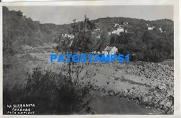 160479 ARGENTINA CORDOBA LA SERRANITA VISTA PARCIAL PHOTO NO POSTAL POSTCARD - Argentine