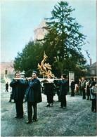 CPM 77 (Seine-et-Marne) Provins - 25 Janvier 1981, Pose Du Dragon-Girouette Au Sommet Du Donjon : Arrivée Du Dragon TBE - Inaugurations