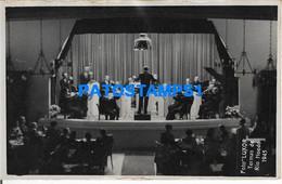 160483 ARGENTINA SANTIAGO DEL ESTERO TERMAS DE RIO HONDO EL CASINO MUSIC YEAR 1945 PHOTO NO POSTAL POSTCARD - Argentine