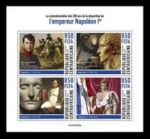 CAR 2021 Mih. 10582/85 Emperor Napoleon Bonaparte MNH ** - Centraal-Afrikaanse Republiek