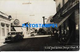 160487 ARGENTINA CORRIENTES GOYA CALLE JOSE GOMEZ PHOTO NO POSTAL POSTCARD - Argentine