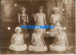160498 ARGENTINA COSTUMES DISGUISE WOMAN'S DANCER 16.5 X 12 CM PHOTO NO POSTAL POSTCARD - Argentine
