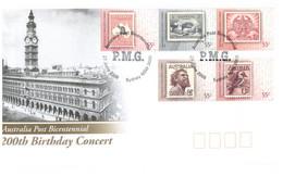 (PP 30) Australia - Australia Post Bicentennial Concert - P.M.G - Cover Number 03112/5000 - Music