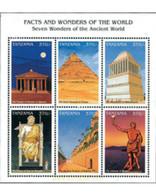 Ref. 284186 * MNH * - TANZANIA. 1997. WORLD WONDERS . MARAVILLAS DEL MUNDO - Tanzania (1964-...)