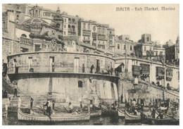 (PP 29)  (very Old) Malta - Fish Market Marina - Malta