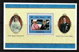 Samoa 1997 Golden Wedding Anniversary Sheet MNH - Samoa