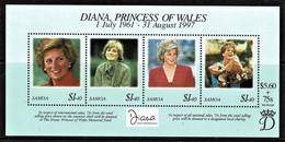 Samoa 1997 Diana, Princess Of Wales Sheetlet MNH - Samoa
