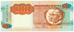 Angola - 100 000 Kwanzas - 04.02.1991 - Pick 133.a - Sign. 18 - Série HL - 100000 - Angola