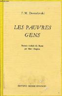Les Pauvres Gens. - F.M.Dostoïevski - 1985 - Slav Languages