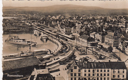 ZWITZERLAND-SCHWEIZ-SUISSE-SVIZZERA.ROMANSHORN-CARTOLINA VERA PHOTO-VIGGIATA IL 7-7-1942 - TG Thurgovia