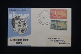 NOUVELLE ZÉLANDE - Enveloppe Souvenir De Hastings En 1951  - L 98070 - Briefe U. Dokumente