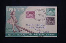 NOUVELLE ZÉLANDE - Enveloppe Souvenir En 1956 ( Enfants ) De Dunedin Pour La France - L 98071 - Briefe U. Dokumente