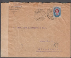 1917. FINLAND. 20 KOP Russian Stamp On Cover To Sverige Cancelled BJÖRNEBORG 7.X.17. ... () - JF419581 - Covers & Documents