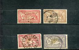 France 1900 Yt 119-122 - 1900-27 Merson