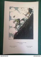 ZISLIN Henri - Guerre 1914/1918 - LA DÉGRINGOLADE DU MARK - Estampes & Gravures