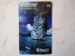 RARE   PALAU   PNCC  RARE   ROCK IN THE SEA - Palau
