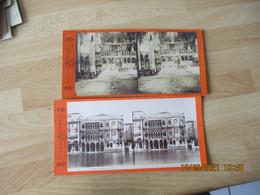 Photo Stereo Lot De 2 Venise Venezia - Stereo-Photographie