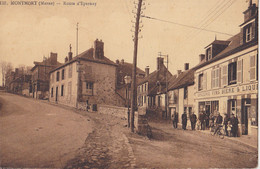 MONTMORT  Route D'Epernay - Otros Municipios