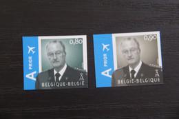 Jaar 2007: 3606/07 'Albert II' - Ongetand Met Nummer - Zeer Mooi! - No Dentado