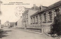23 Saint Sébastien La Mairie Et Maison D'Ecole - Otros Municipios