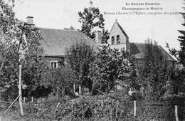23 Champagnac La Noaille Maison Clastre Et L'Eglise - Otros Municipios