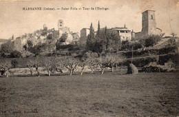 26 Marsanne Saint Félix Et Tour De L'Horloge - Otros Municipios