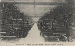 X113347 ISERE BOURGOIN USINE CH. DIEDERICHS ATELIER DE 680 METIERS A TISSER TISSAGE - Bourgoin