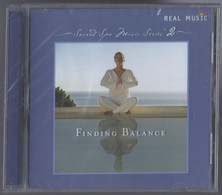 CD 11 TITRES FINDING BALANCE SACRED SPA MUSIC SERIES 2 REAL MUSIC RELAXATION NEUF SOUS BLISTER - New Age