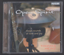 CD 8 TITRES THOMAS HEINZ OPEN SPIRIT MAGIC SOUNDS OF LOVE AND JOY RELAXATION NEUF SOUS BLISTER - New Age
