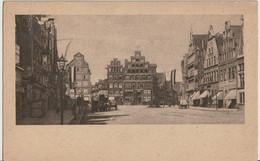 AK Lüneburg, Am Sande Mit Blick Auf Den Schütting Um 1910 - Lüneburg