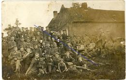 Allemande  Carte Photo - Garde Regiment Wavrin Frankreich Enfants Bier Krug 2-2 - Guerre14-18 WWI 1.WK - 1914-18