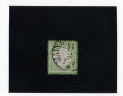 AIGLE EN RELIEF, PETIT éCUSSON  1K VERT-JAUNE  OBL. N°7 YVERT ET TELLIER  1872 - Oblitérés