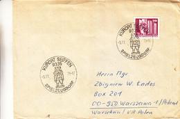 Allemagne - République Démocratique - Lettre De 1975 - Oblit Spielzeugdorf - Kurort Seiffen - Lénine ? - Brieven En Documenten