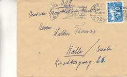 Hongrie - Lettre De 1952 - Oblit Budapest - - Briefe U. Dokumente