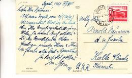 Hongrie - Carte Postale De 1957 - Oblit Budapest - - Briefe U. Dokumente