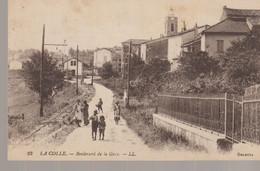 C.P. A. - LA COLLE - BOULEVARD DE LA GARE - 13 - L. L. -ANIMEE - ENFANTS - Other Municipalities