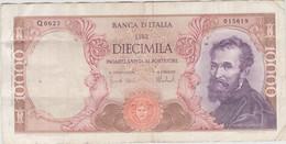 Italie - Billet De 10000 Lire - Michelangelo - 27 Novembre 1973 - P97f - 10000 Lire