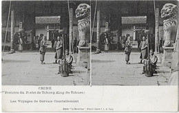 CHINA - CHINE - YUNNAN - Prétoire Du Préfet De TCHONG KING ( SE TCHUEN ) - China