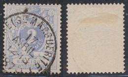 "émission 1869 - N°27 Obl Simple Cercle (DU) ""Liège (Ste-Marguerite)"" - 1869-1883 Leopold II"