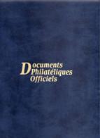 CLASSEUR VIDE DOCUMENTS PHILATELIQUES OFFICIELS - Sonstige