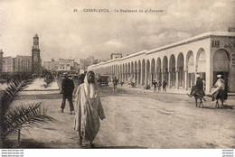 MAROC  CASABLANCA  Le Boulevard Du 4° Zouaves  ..... - Casablanca