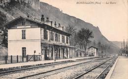 ROSSILLON - La Gare - Voie Ferrée - Autres Communes