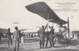 CPA - LUXEUIL-LES-BAINS (HAUTE-SAÔNE) - TERRAIN AVIATION - MANŒUVRE ARMÉE EN 1911 - AVIONS - Luxeuil Les Bains