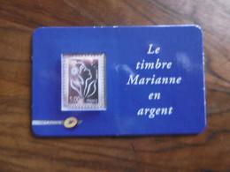FRANCE 2006   NO 185 * *   MARIANNE DE LAMOUCHE TIMBRE EN ARGENT - Autoadesivi