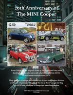 2020/12- TUVALU - MINI COOPER    4V   MNH ** - Voitures