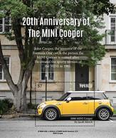 2020/12- TUVALU - MINI COOPER    1V   MNH ** - Voitures