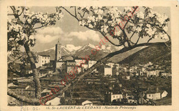 66.  SAINT LAURENT DE CERDANS .  Matin De Printemps . - Other Municipalities