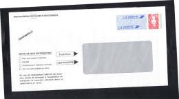 Entier Enveloppe TSC Pour Les Douanes Françaises . Neuve , Non Voyagée , Pattes Collées,ouverte Sur Le Dessus .     E - Prêts-à-poster: Other (1995-...)