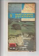 CART'INDEX REGIONALES - N° 5 - SUD-OUEST  PYRENEES échelle 1:25000 - Circa 1980 - Roadmaps
